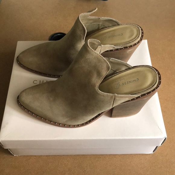 7b5e0f85b Chinese Laundry Shoes | Nwt Mule Booties | Poshmark